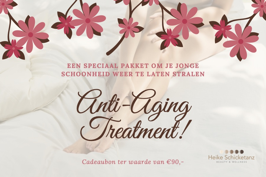 Cadeaubon Anti-Aging Pakket