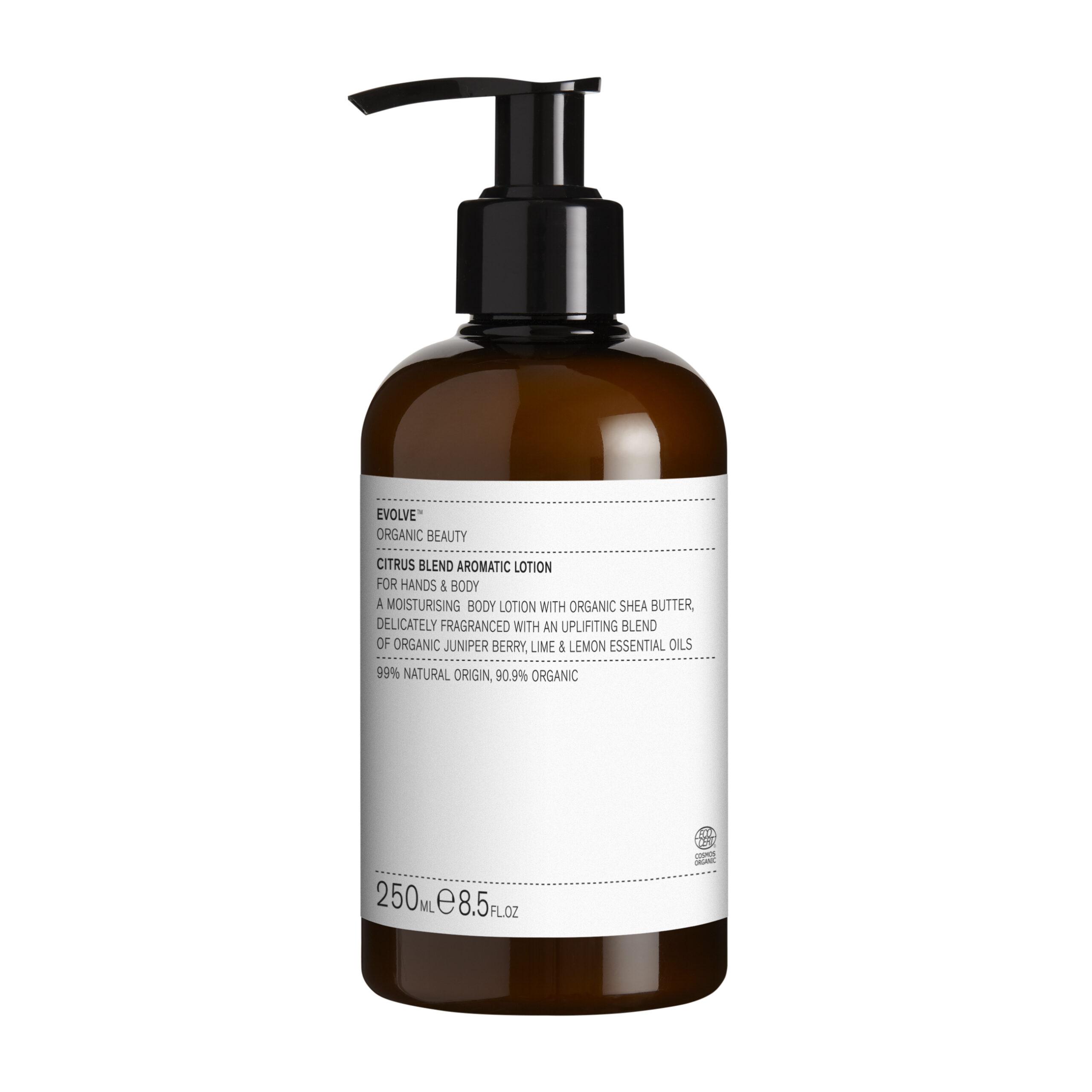 Citrus Blend Aromatic Lotion – Evolve Beauty