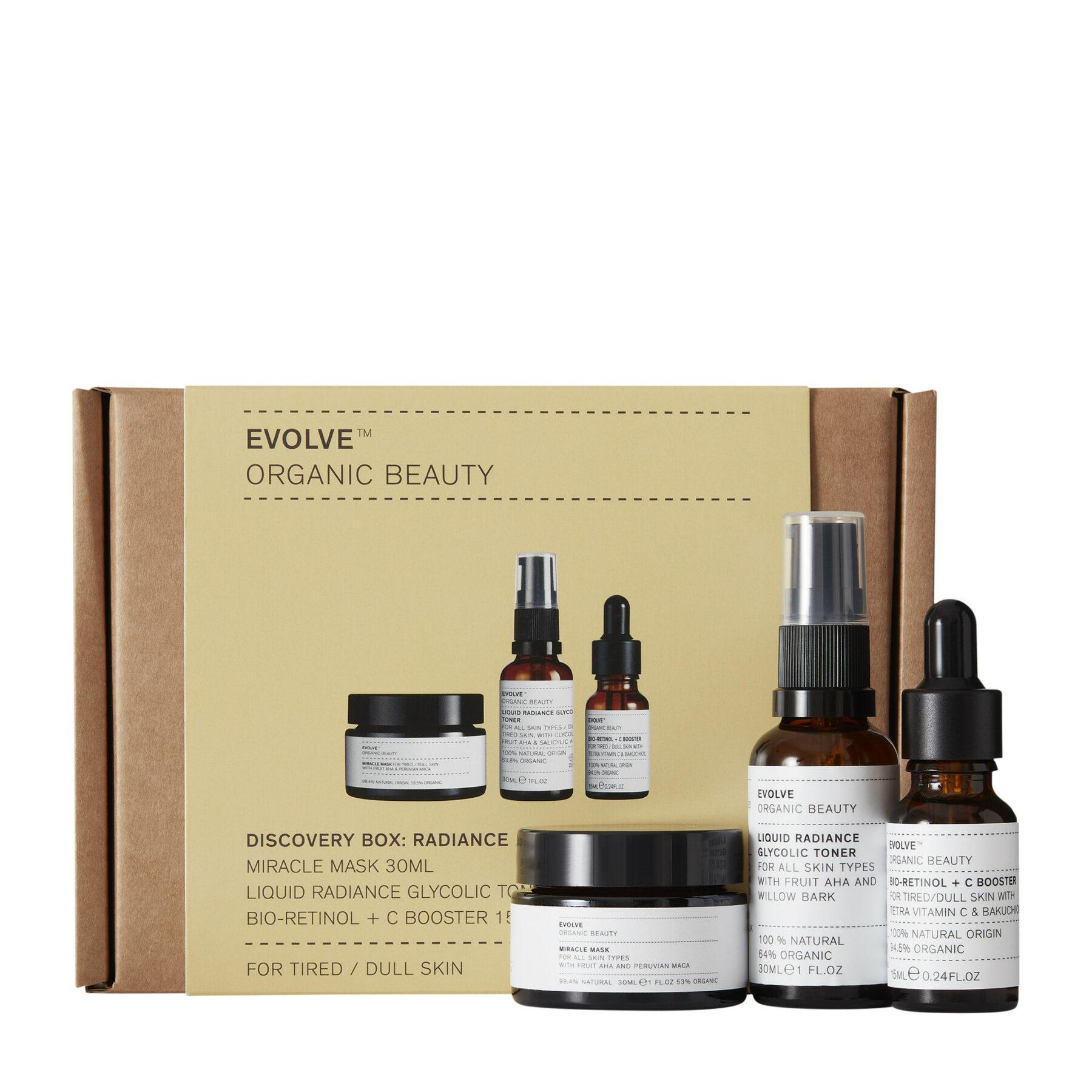Discovery Box: Radiance – Evolve Beauty